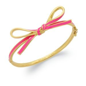Kate Spade bow bracelet bangle